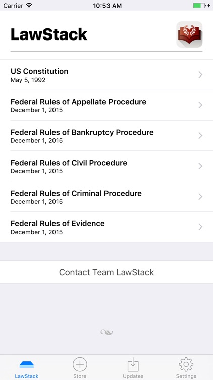 LawStack - Instant Legal Reference