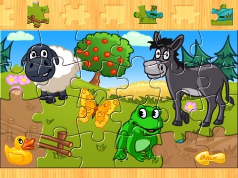子供のための動物のパズル 農場 Animal Puzzleのおすすめ画像1