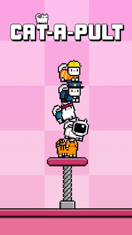 Cat-A-Pult: Endless stacking of 8-bit kittens Online Hack Tool