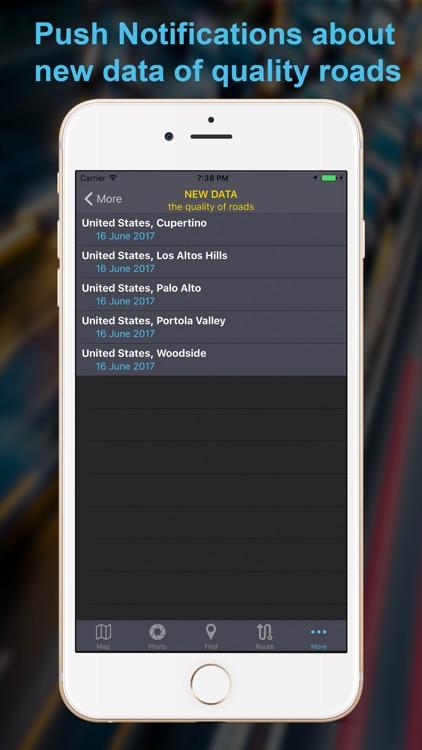 BadRoads - map of roads qualit screenshot-3