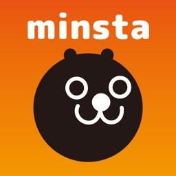 Minsta みんスタ 色々なsnsで使えるスタンプアプリ By Benemo Co Ltd