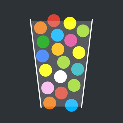 100 Balls - Tap to Drop the Color Ball Game ios app