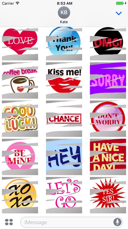 Animated Scratch Stickers screenshot-3