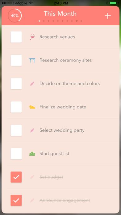 Wedding Planner ! screenshot 1