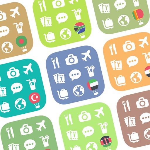 Unlock 9 SouthAsia, ME, Africa Langs 500 (Travel)