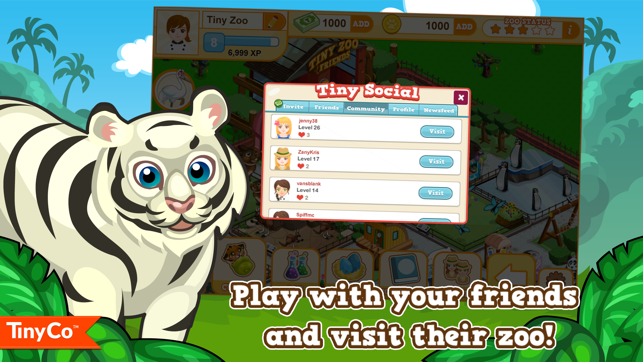 Tiny Zoo Friends Screenshot