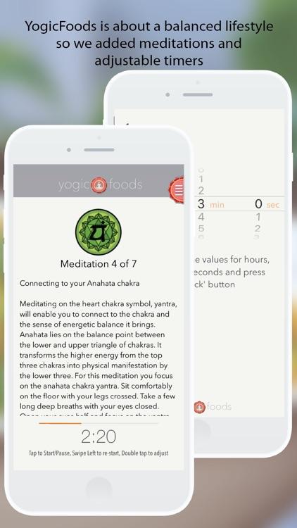 Yogicfoods -  Global vegan, vegetarian recipes screenshot-3