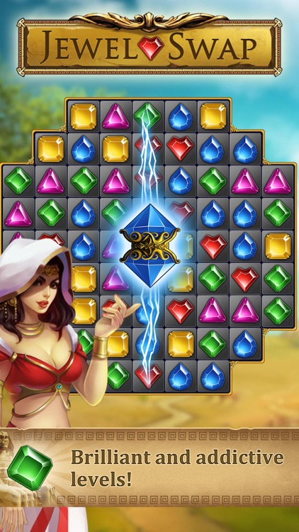 Jewel Swap -Magic match 3 game screenshot-1