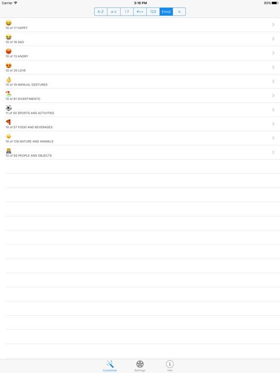 MySpecialKey Screenshots
