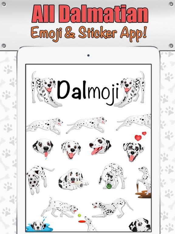 Dalmoji- Dalmatian Emojis and Stickers! Screenshots