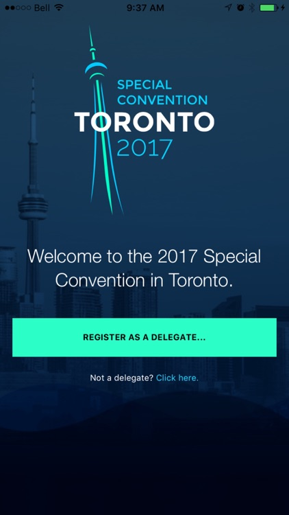 Toronto Special Convention 2017 - Delegate App screenshot-1