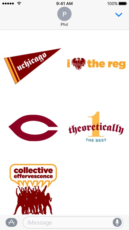 UChicago Stickers screenshot-4
