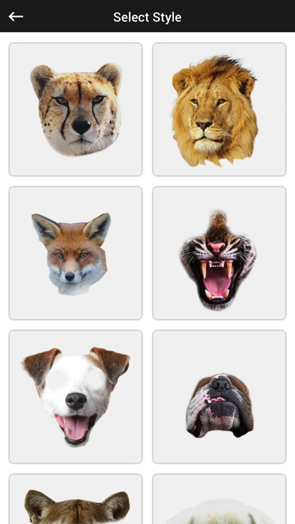 Animal Faces Photo Editor - Animal Faces Booth screenshot-3