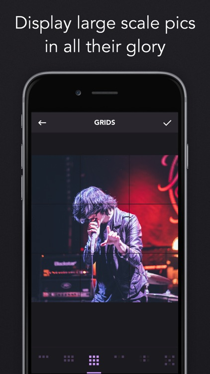 Instagrids - Crop Your Photos For IG Profile View screenshot-4