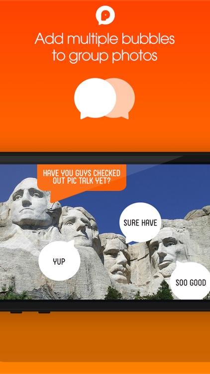 PicTalk+ Add Speech Text Caption Bubbles to Photos screenshot-3