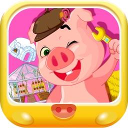 粉红小猪设计房屋