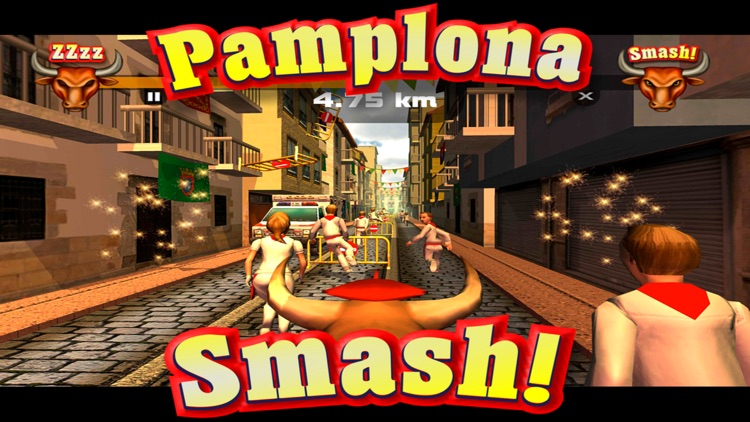 Pamplona Smash: Infinite Bull Runner