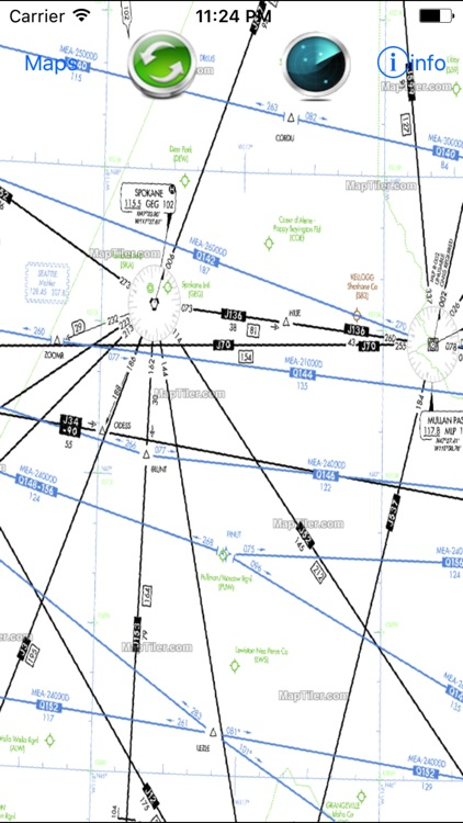 Airplane Charts Instrument Flight Rules IFR (H)