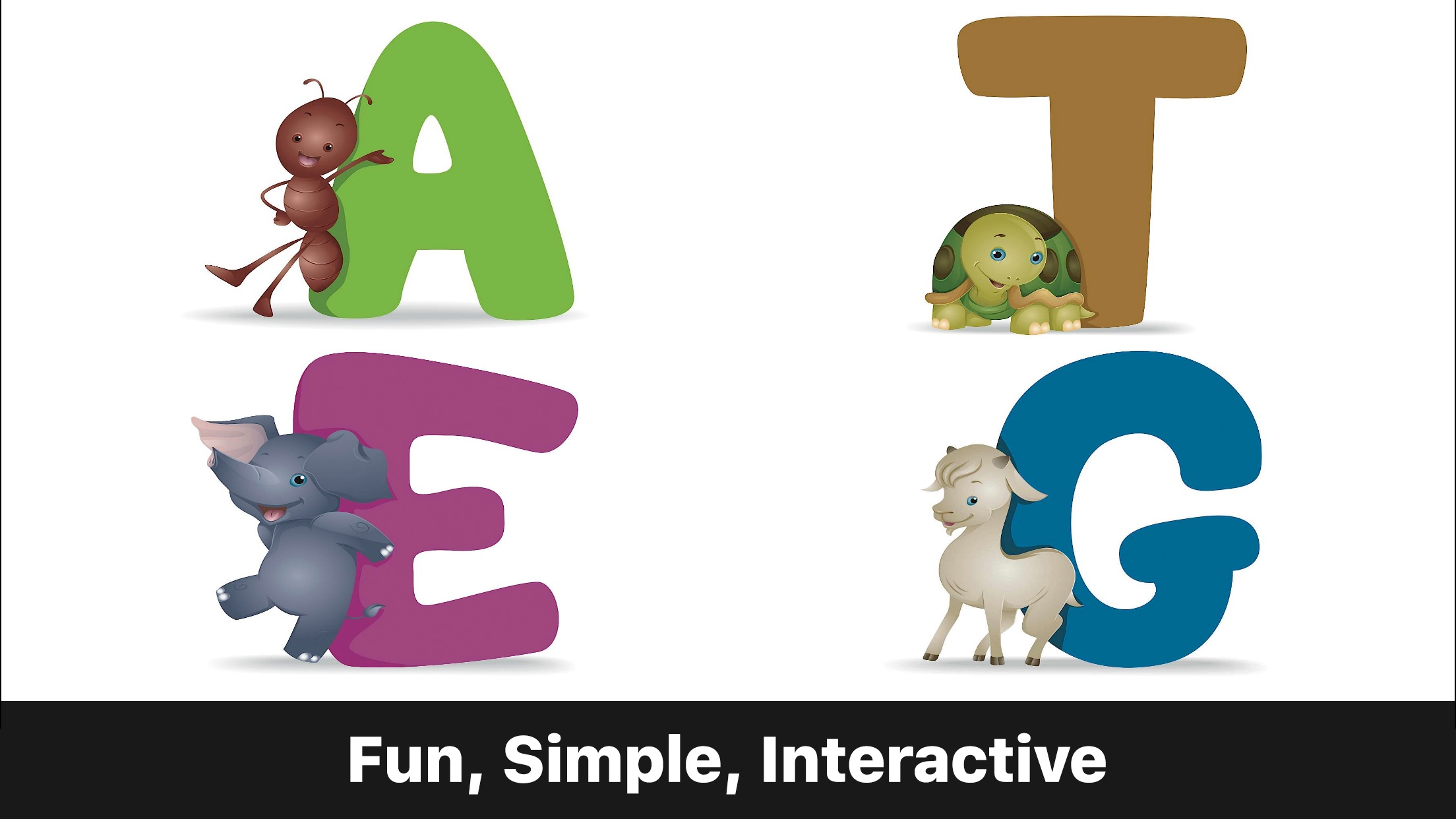 ABC Alphabet Phonics - Preschool Game for Kids Screenshot
