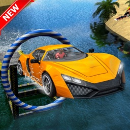 Water Surfing – Car Driving and Beach Surfing 3D
