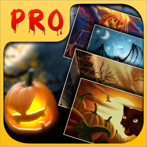HD Halloween Wallpapers Pro for iPhone 5/iPad icon