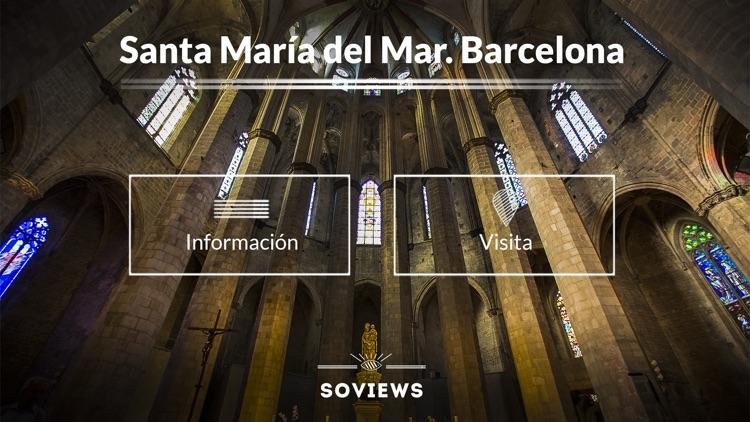 Basilica of Santa María del Mar in Barcelona