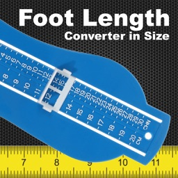 Foot length converter in size