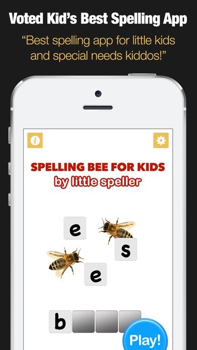 Spelling Bee for Kids - Spell 4 Letter Words - AppRecs