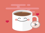 Animated Coffee Quotes Stickers