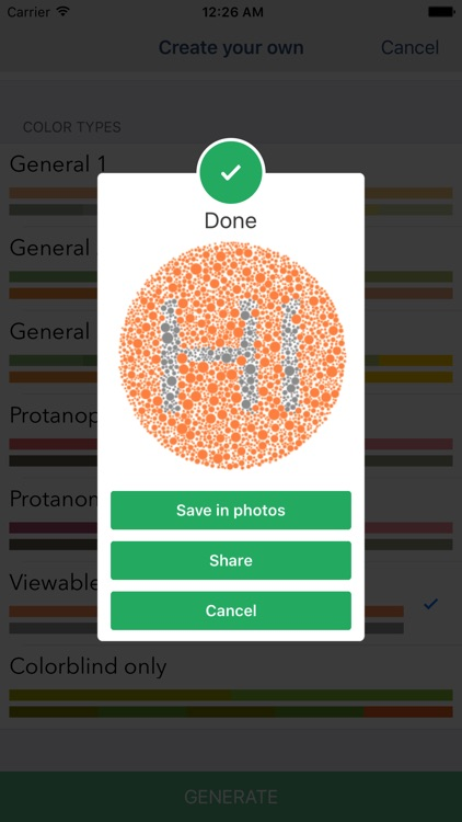 Color Vision Test - Detects 3 deficiency groups screenshot-4