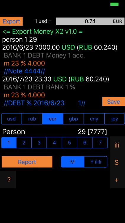 Money X2 - AR Personal & Business Budget Tracker screenshot-3