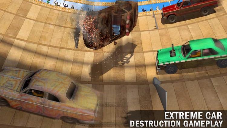 Death Well Demolition Derby - Stunt Car Crash Test
