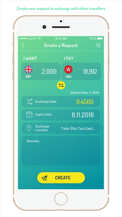 Anymex: Social Currency Exchange App