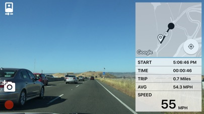 DashCam 2 Screenshot on iOS