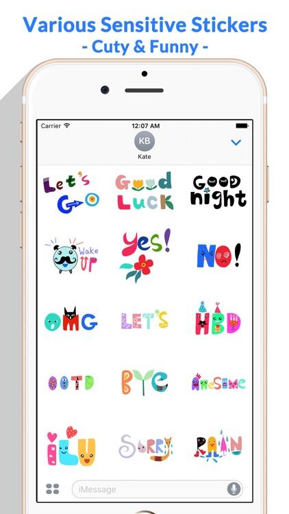 WordMine - Doodle Words Stickers