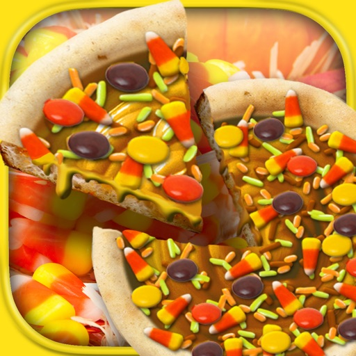 Thanksgiving Candy Pizza Maker Baker Cooking Food
