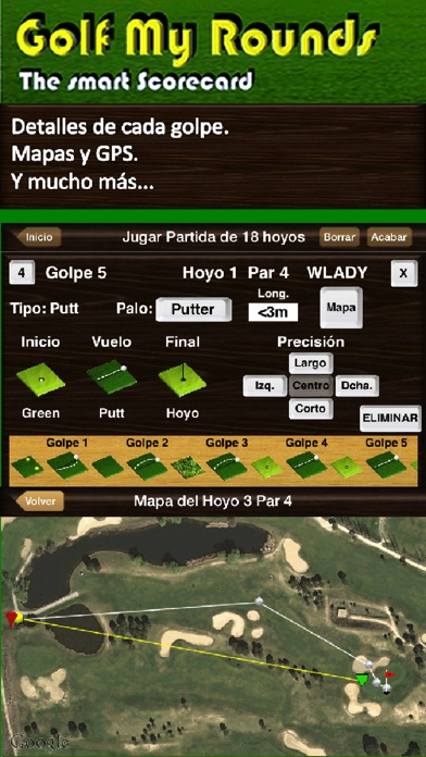 Screenshot for Golf My Rounds in Ecuador App Store