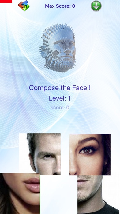 TetrisFace selfie mania creative photo tetris face