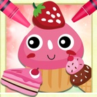 Candy Cake Paint - galletas dibujos para colorear icon