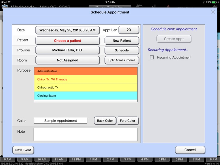 CT Scheduler Mobile 6.7 screenshot-3