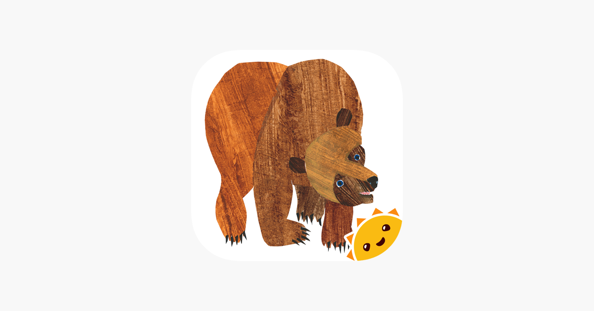 Desfile animal del oso pardo, de Eric Carle en App Store