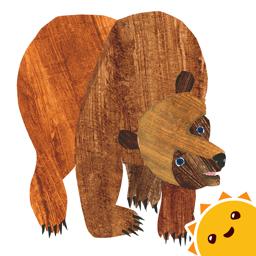 Ícone do app Desfile dos Animais do Brown Bear de Eric Carle