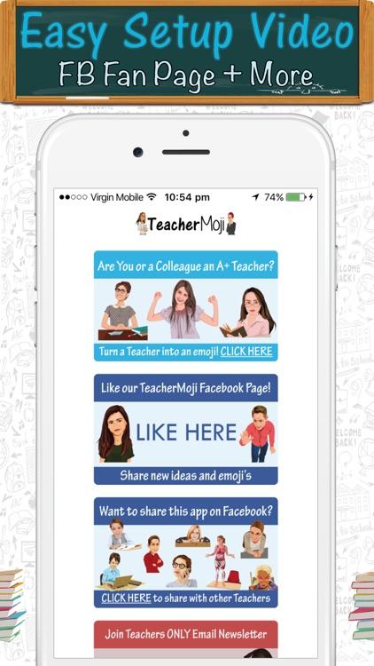TeacherMoji - Teacher Emojis and Stickers! screenshot-4