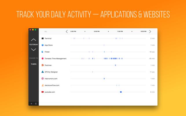 Atento - Time Tracking Screenshot