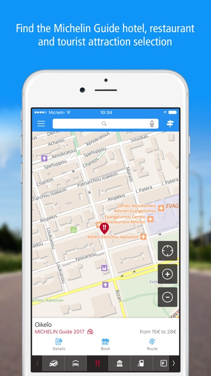 GPS Traffic Speedcam Route Planner by ViaMichelin screenshot-4