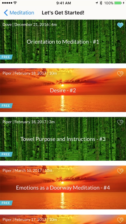 Heart of the Matter Meditation screenshot-3
