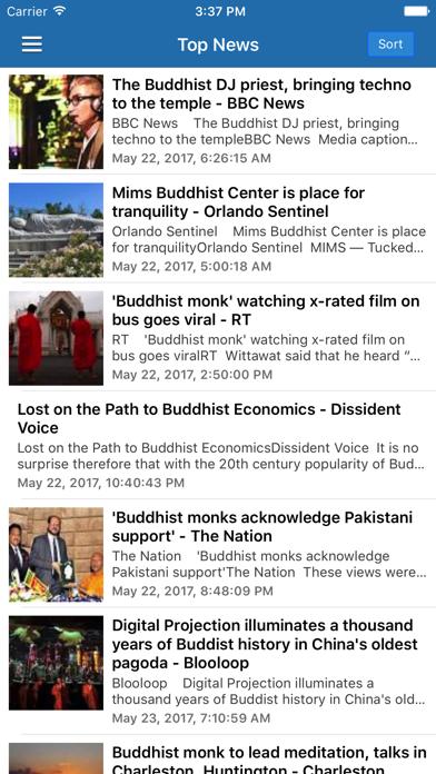 Buddhism News & Buddha Radio - Buddhist Updates screenshot one