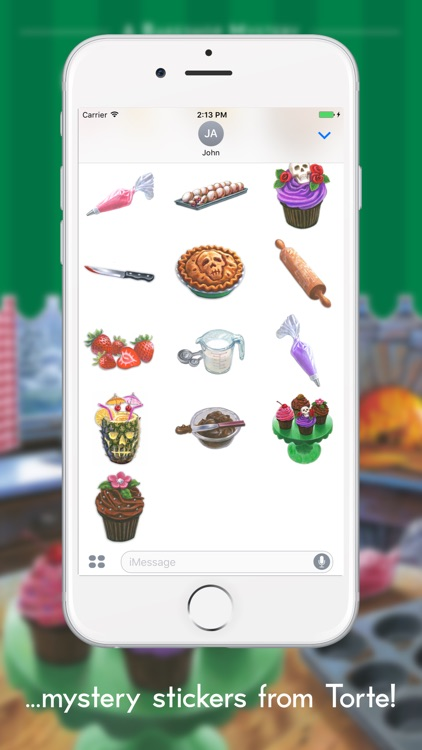 Bakeshop Mystery Stickers screenshot-3