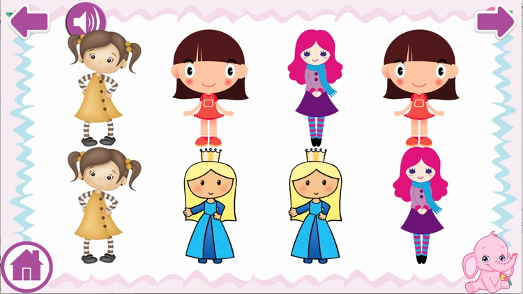 Baby Girl Laugh & Learn Shapes Colors ABC Games screenshot-4