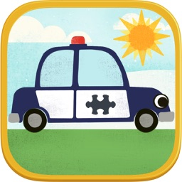 Car Games for Kids- Fun Cartoon Jigsaw Puzzles HD
